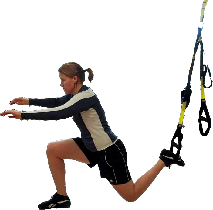 TRX Rear foot elevated split squat