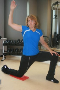 Half-Kneeling Hip Flexor Lunge Stretch