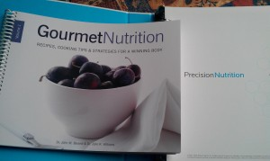 Precision Nutrition binder