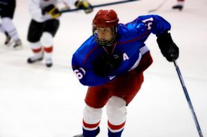 hockey posture