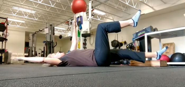 The best abdominal exercise for people who arch their backs a lot